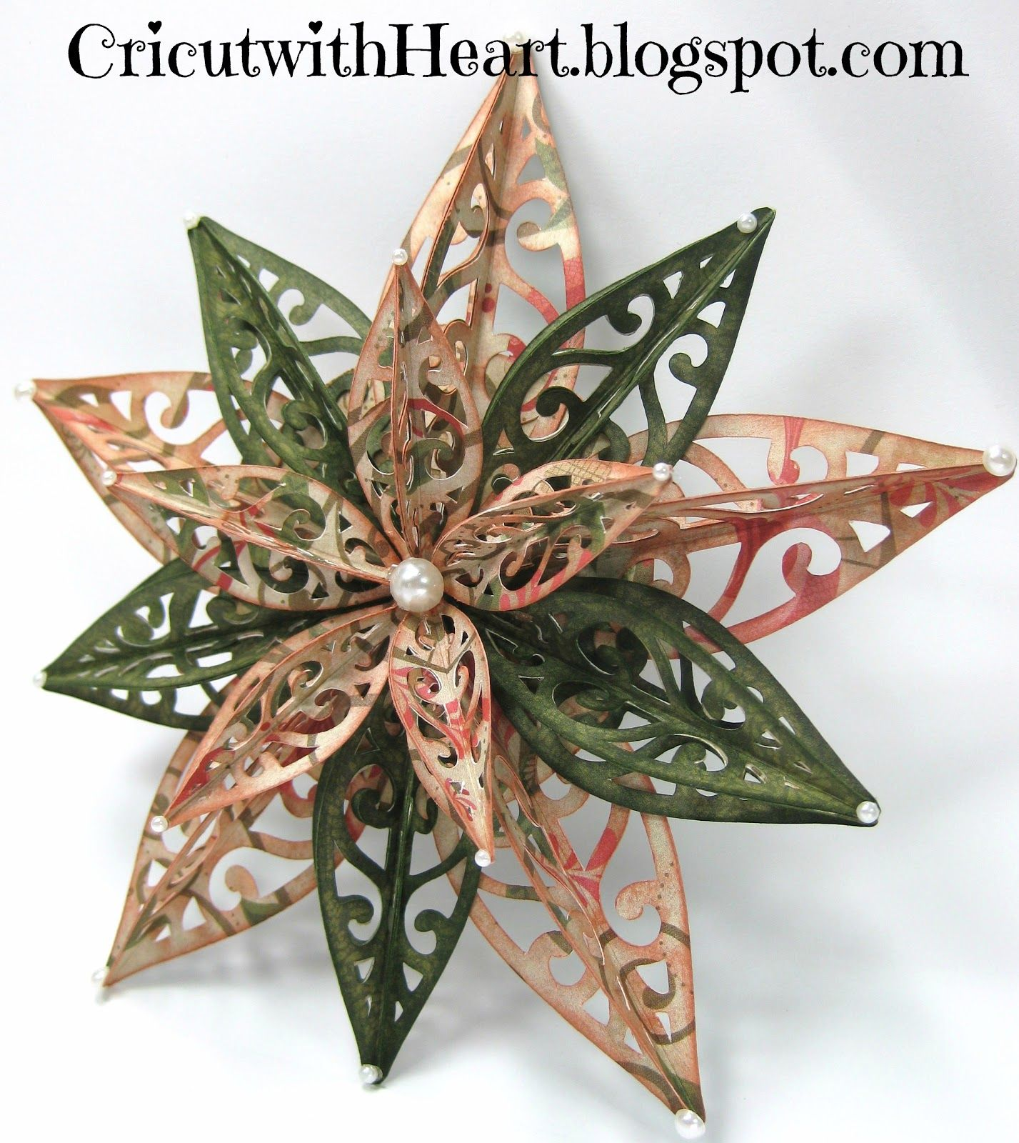 Cricut with Heart Another Artiste Ornament Star picture
