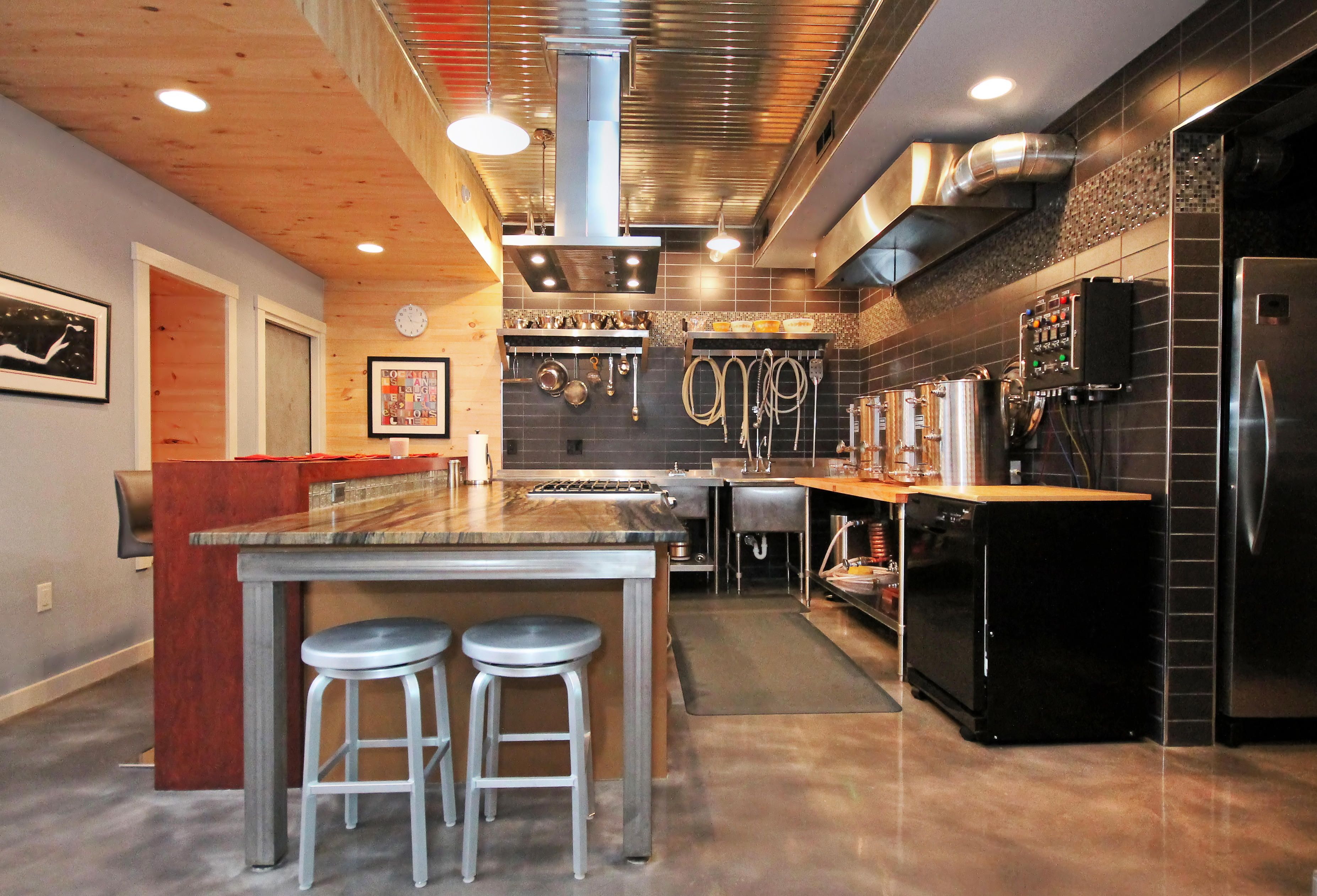 Best Kitchen Gallery: Basement Brewery Google Search Brew Shed Pinterest Basements of Homebrew Setup Ideas on rachelxblog.com