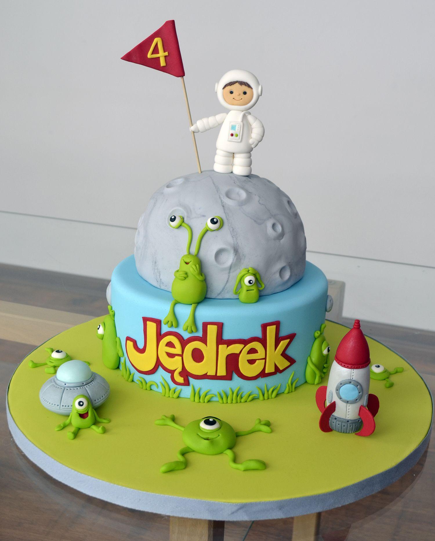 Space Cake Girl Astronaut
