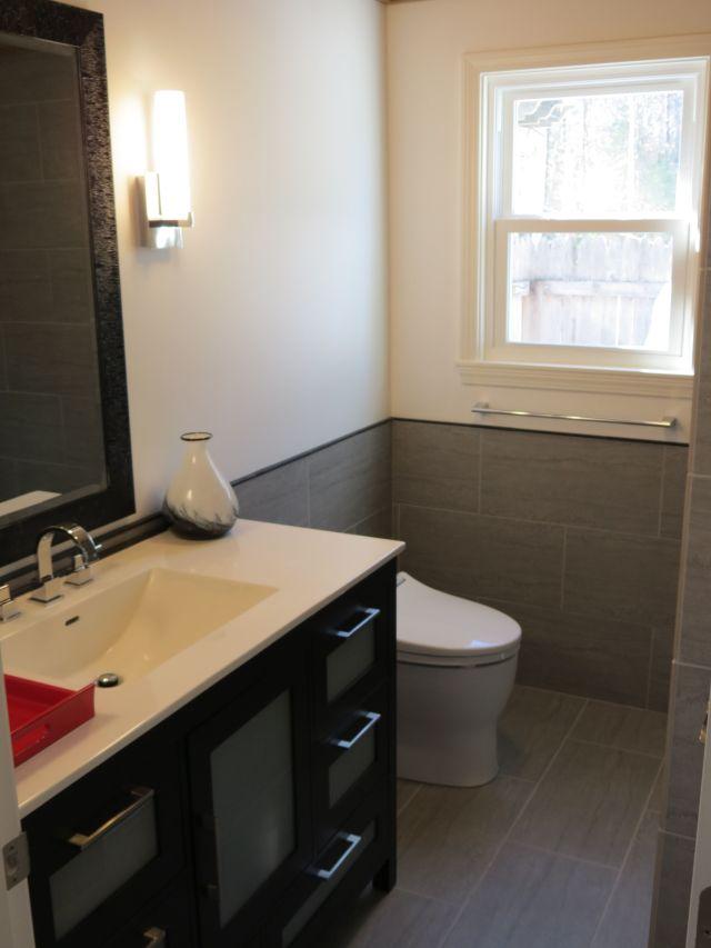 February 2013 Bathroom Reno Ronbow Vanity Toto Toilet Delta