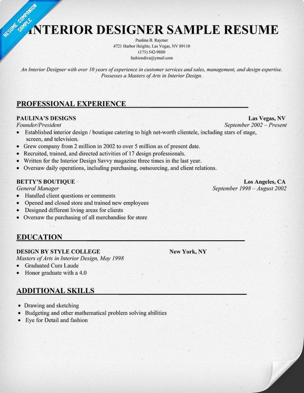 interior design resume images about rell resume on firefighter