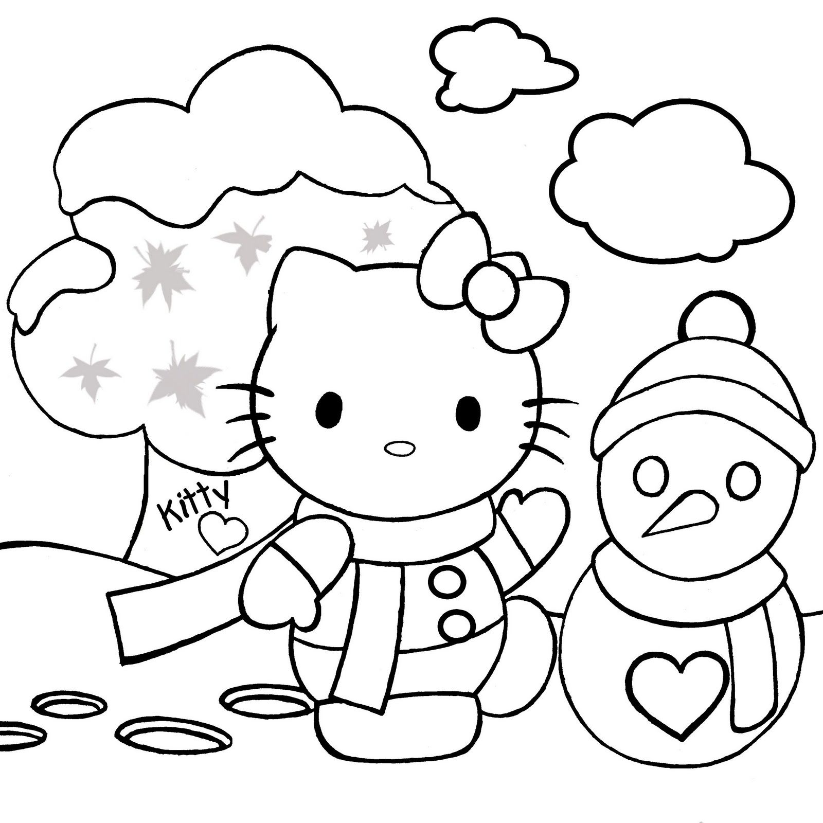 Christmas Printable Coloring Pages 1600x1600 Line