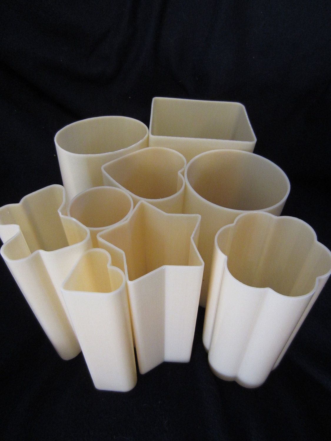 """Soap Loaf Mold Pillar Tube 6"""" 15cm Your Choice of Shapes"""