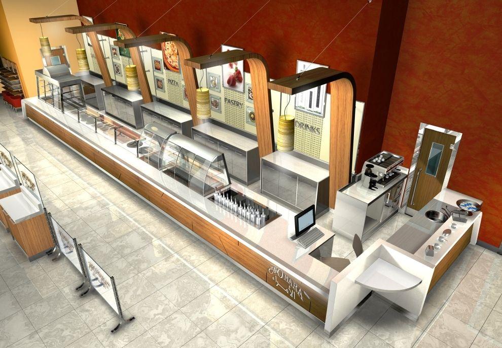 selfservice restaurant in Saudi Arabia Denenecek