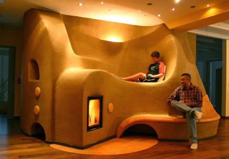 Sweatsville Rocket Stove Thermal Mass Heaters Cabins