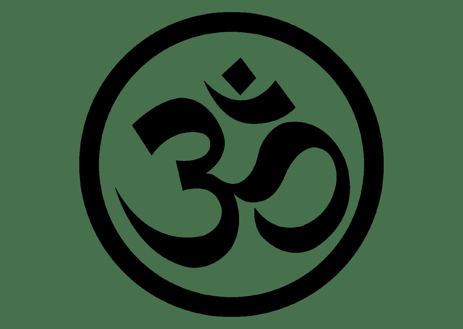 Om Yoga Logo Vector
