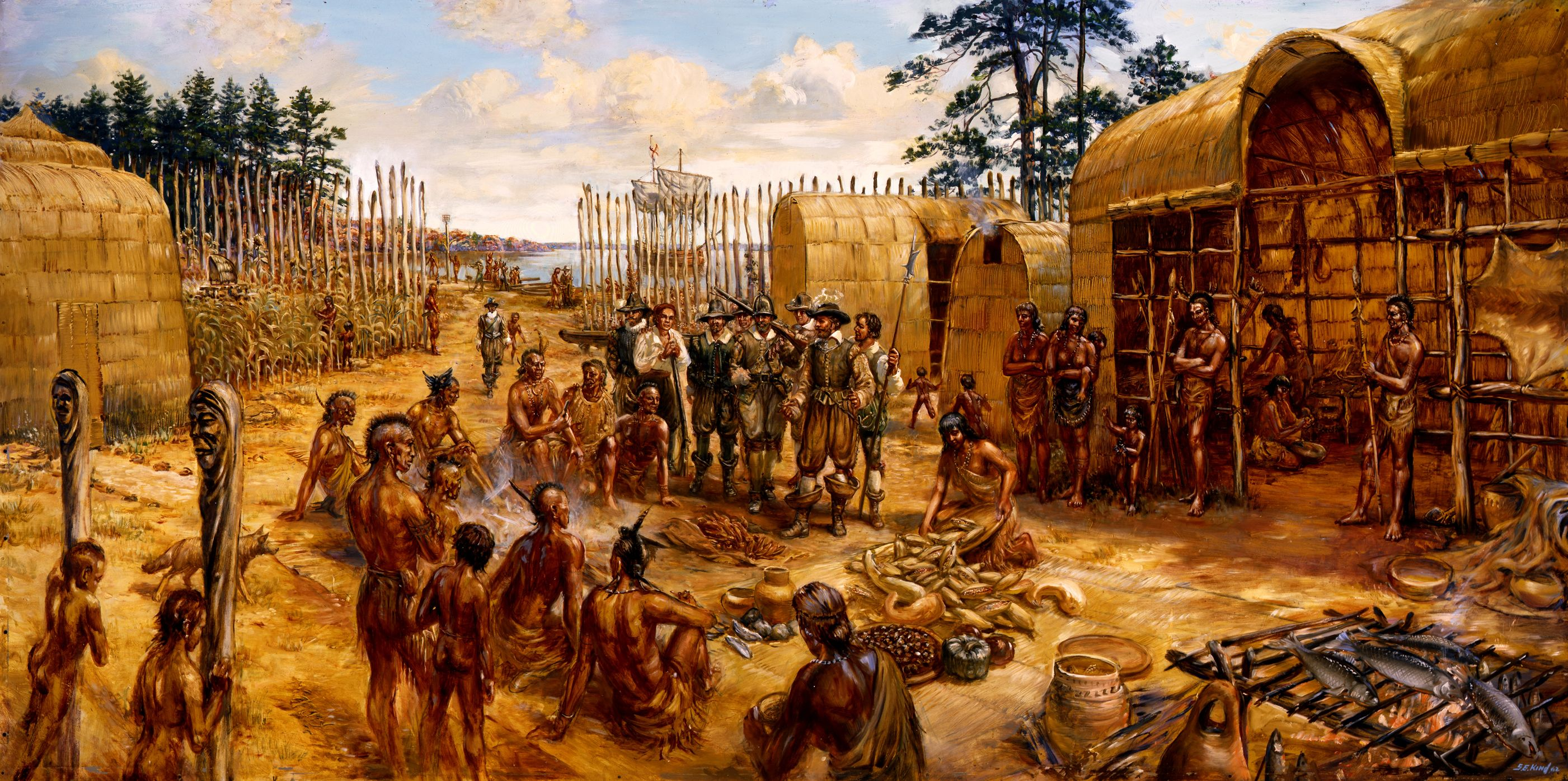 Trading With The Native Americans