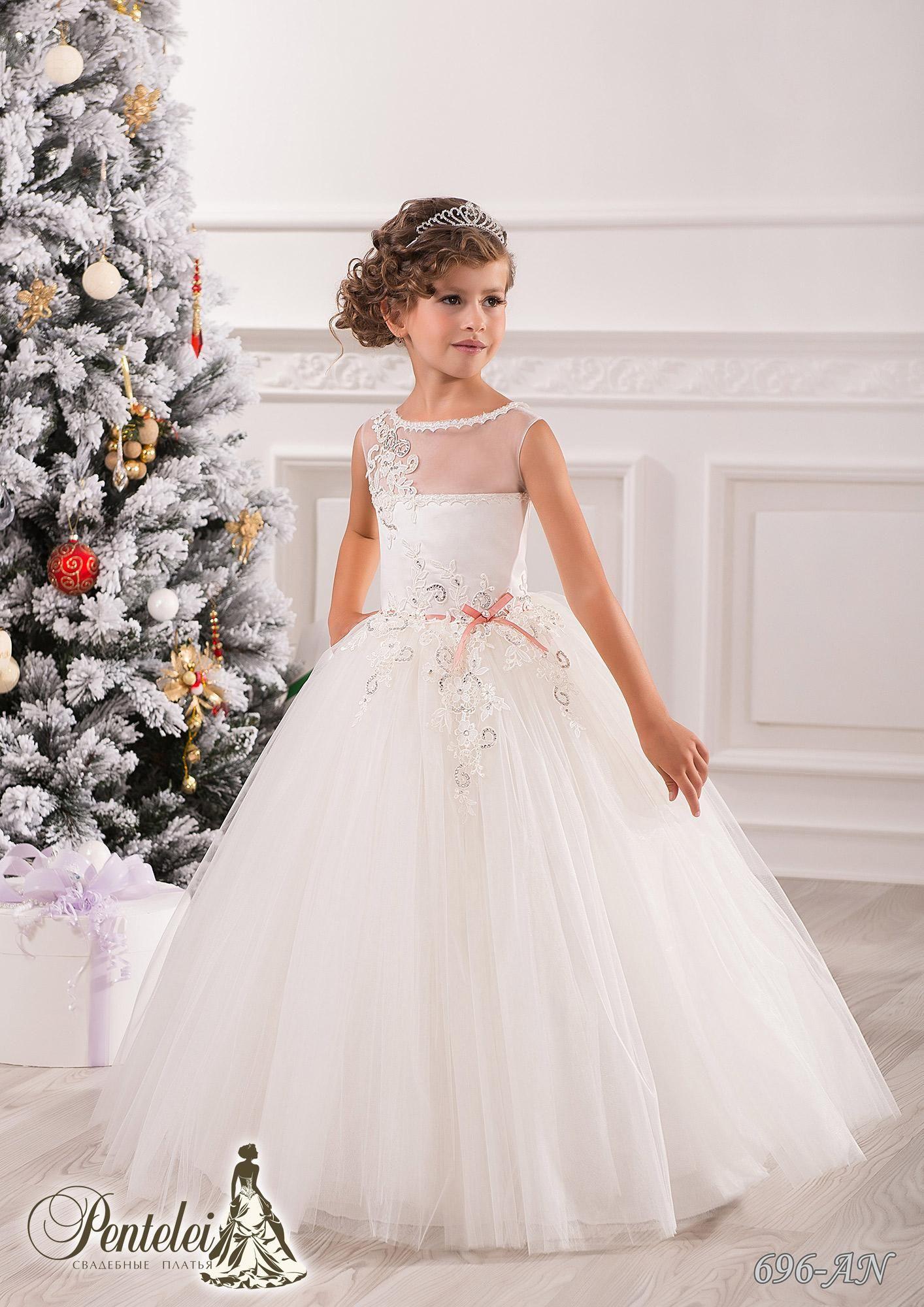 Cheap 2018 Flower Girls Dresses First Communion Dresses