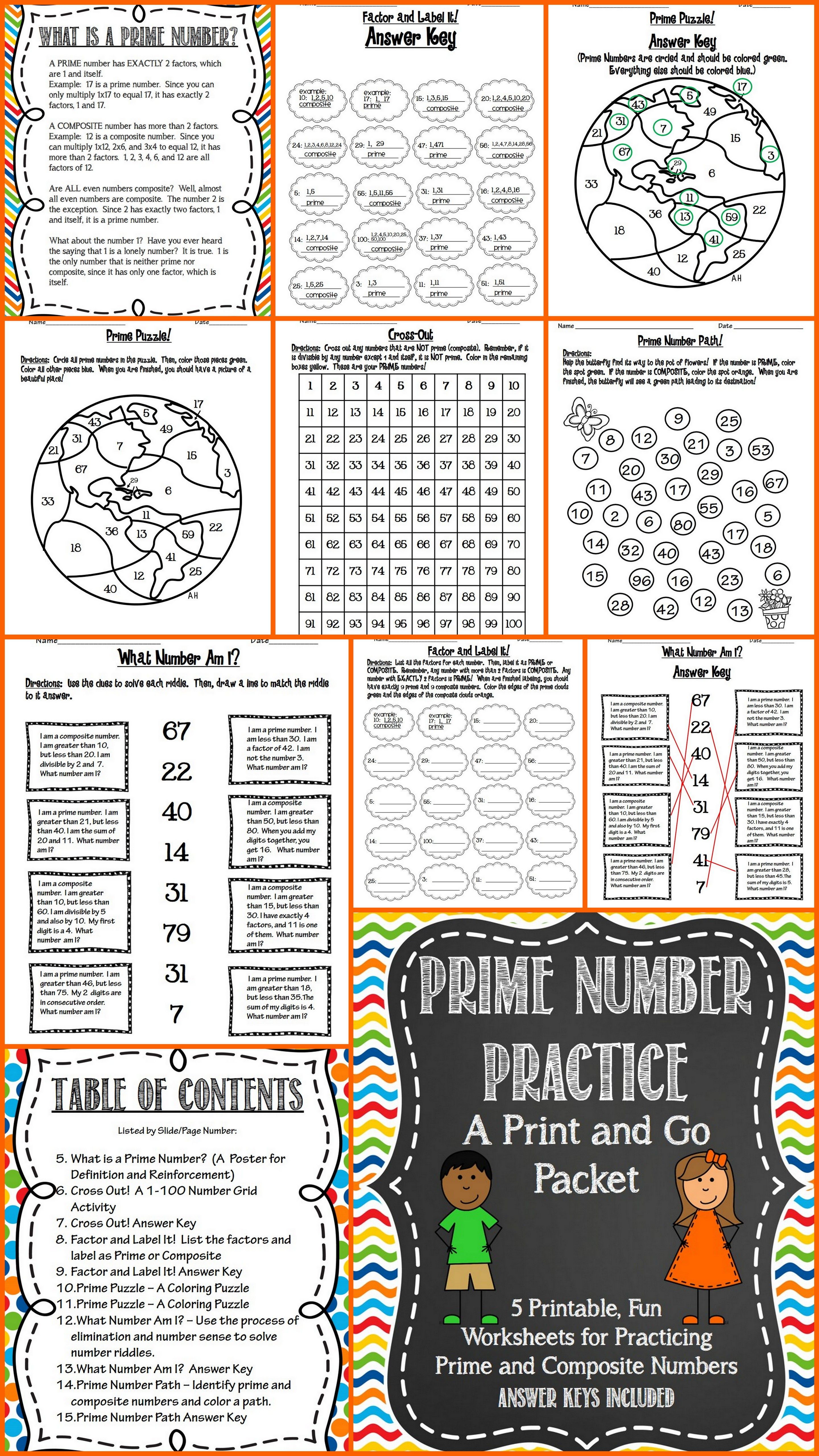 Prime Number Practice