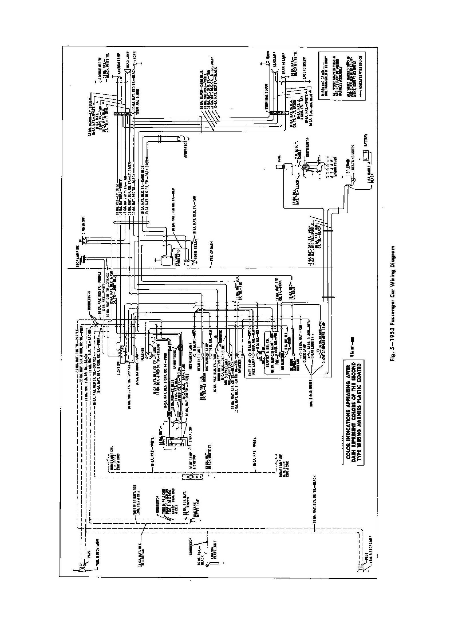 53 Chevy Wiring Diagram