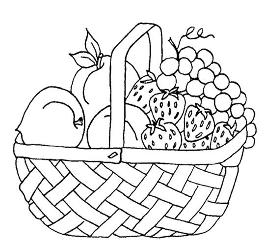 coloring pages coloring and fruit on pinterest