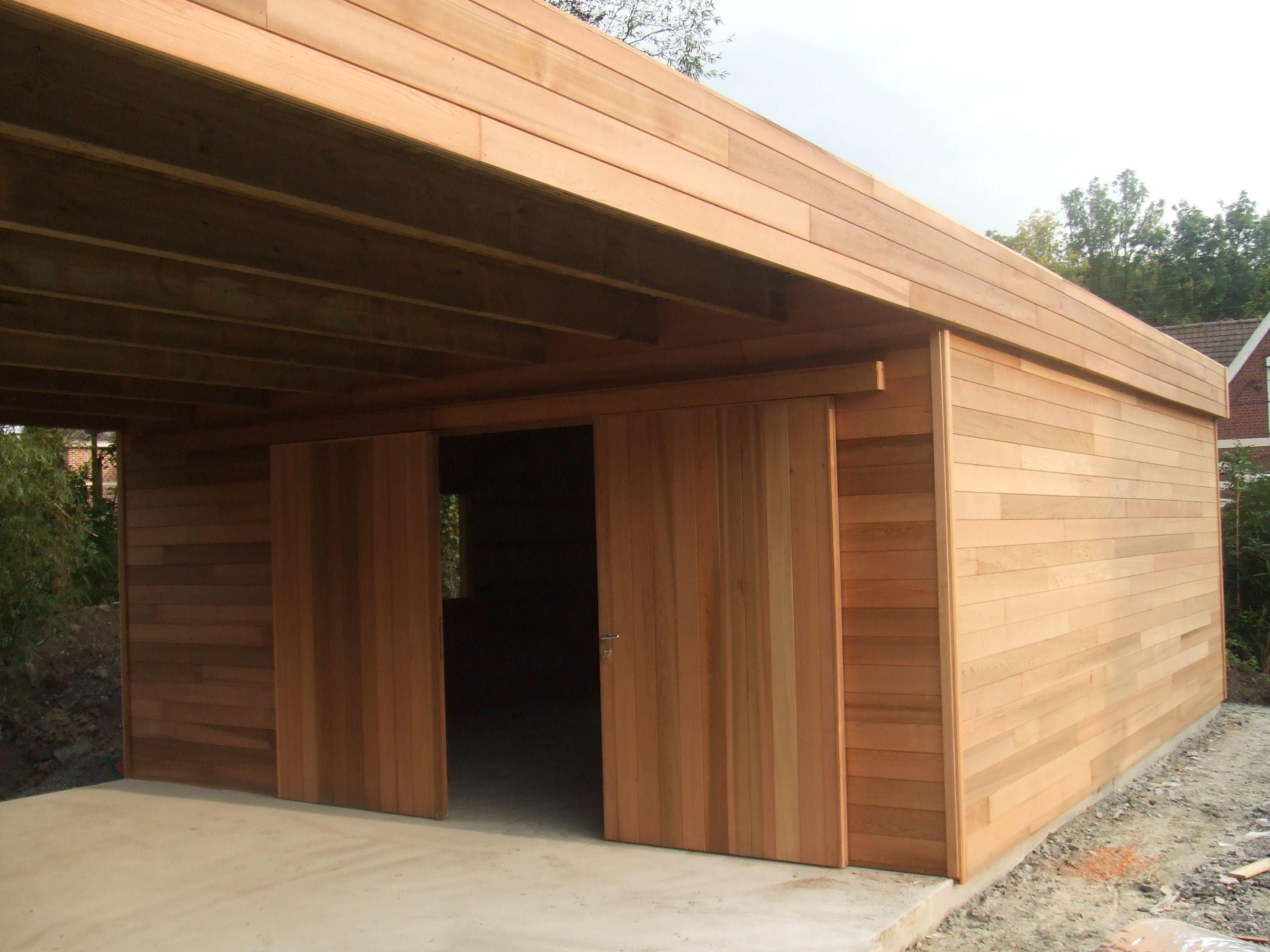Garage carport en Red cedar Living Pinterest Red