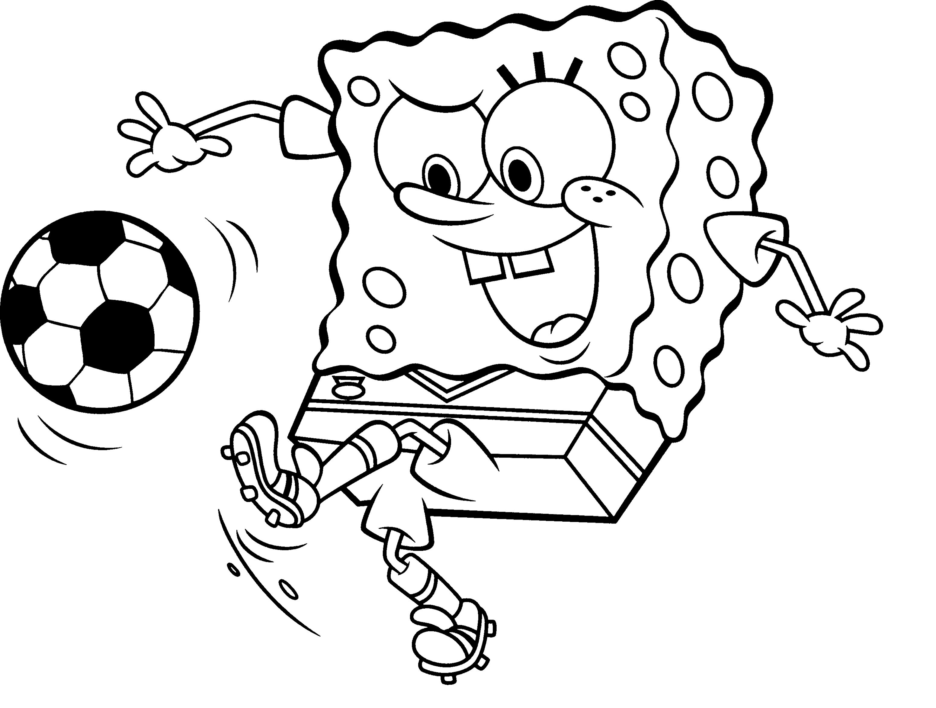 Collection Of Free Spongebob Chocolate Coloring Page From