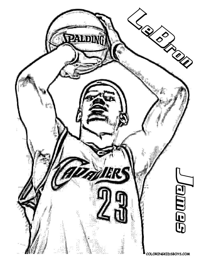 basketball players nba and coloring pages on pinterest