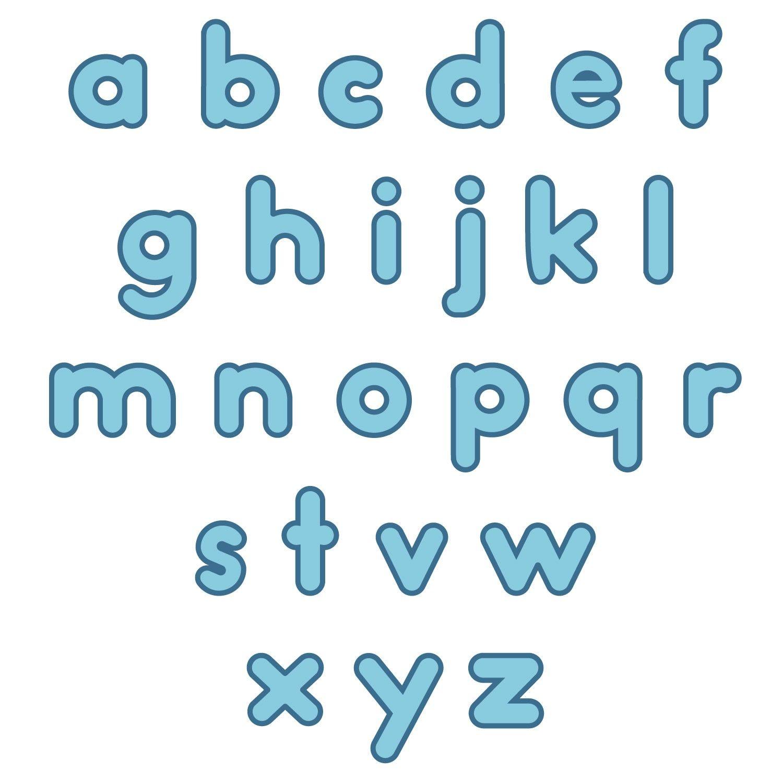 Lower Case Alphabet High Quality