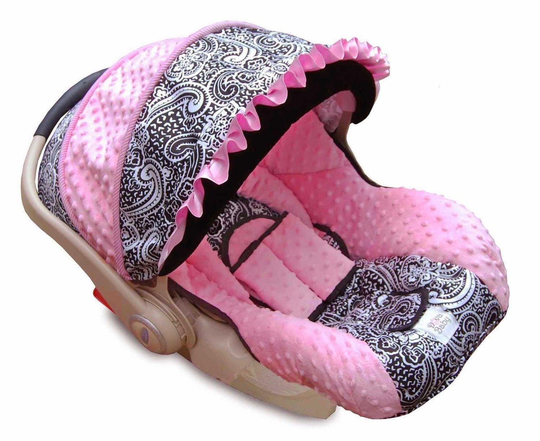 Boutique Graco Snugride Infant/Baby Car Seat Cover Paisley