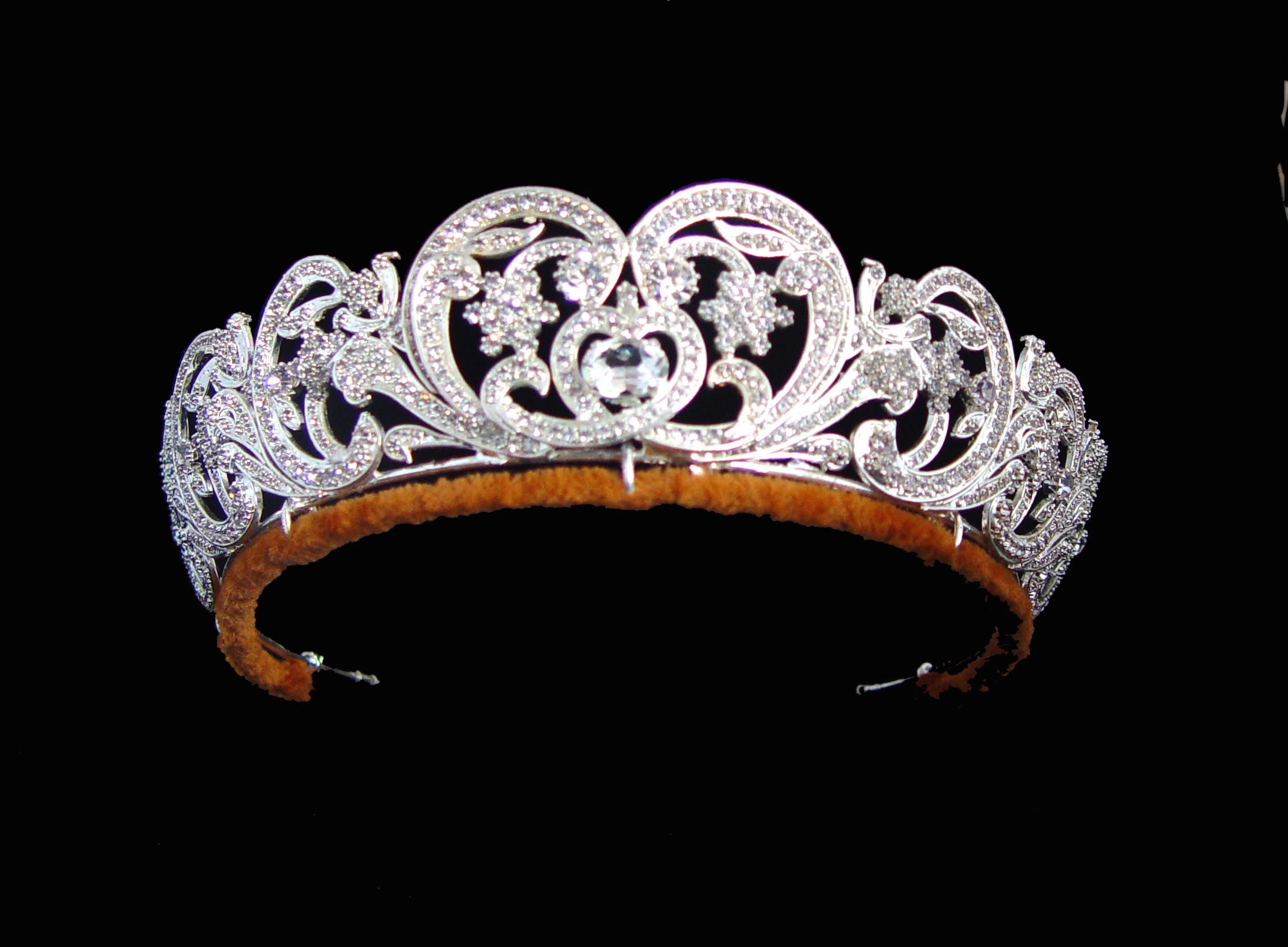 The Spencer Tiara The Spencer Tiara is mounted in gold