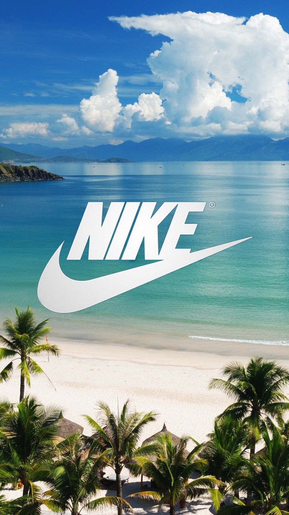 Nike wallpaper Beach Nike & adidas Pinterest Nike