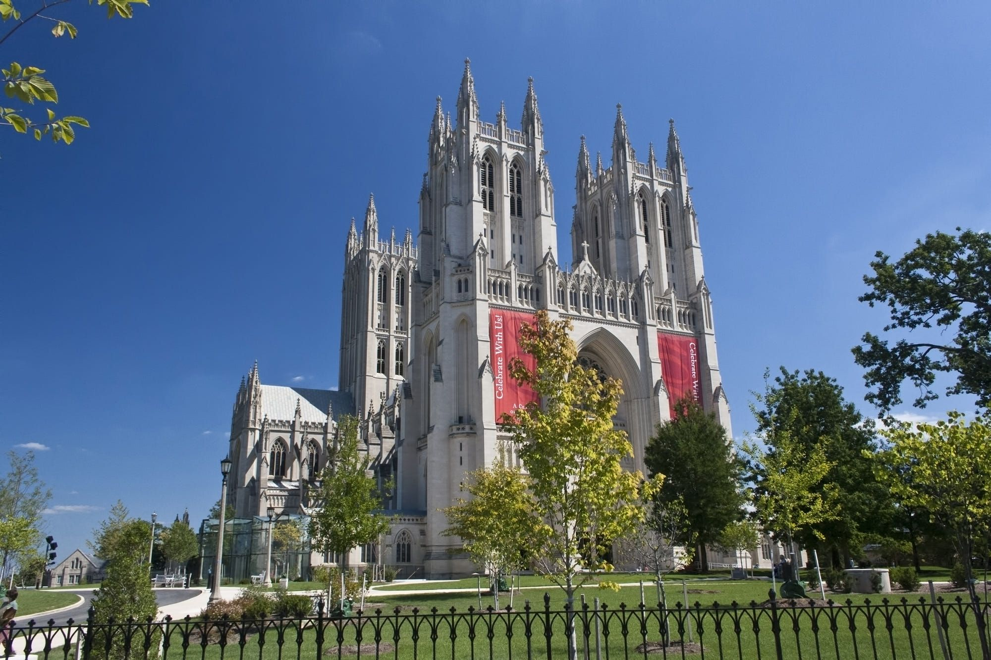 The National Cathedral In Washington Dc Is The Sixth