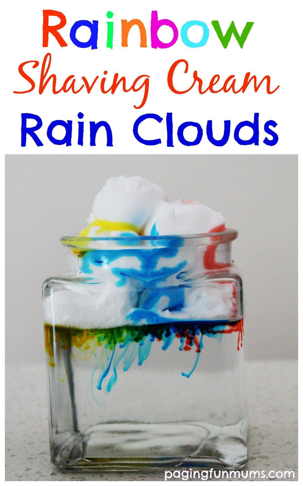 Rainbow Rain Clouds