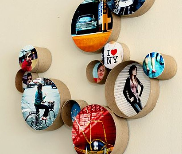 Cardboard Tubes Cool Effect Cool Display Put Any Picture In A Tube And