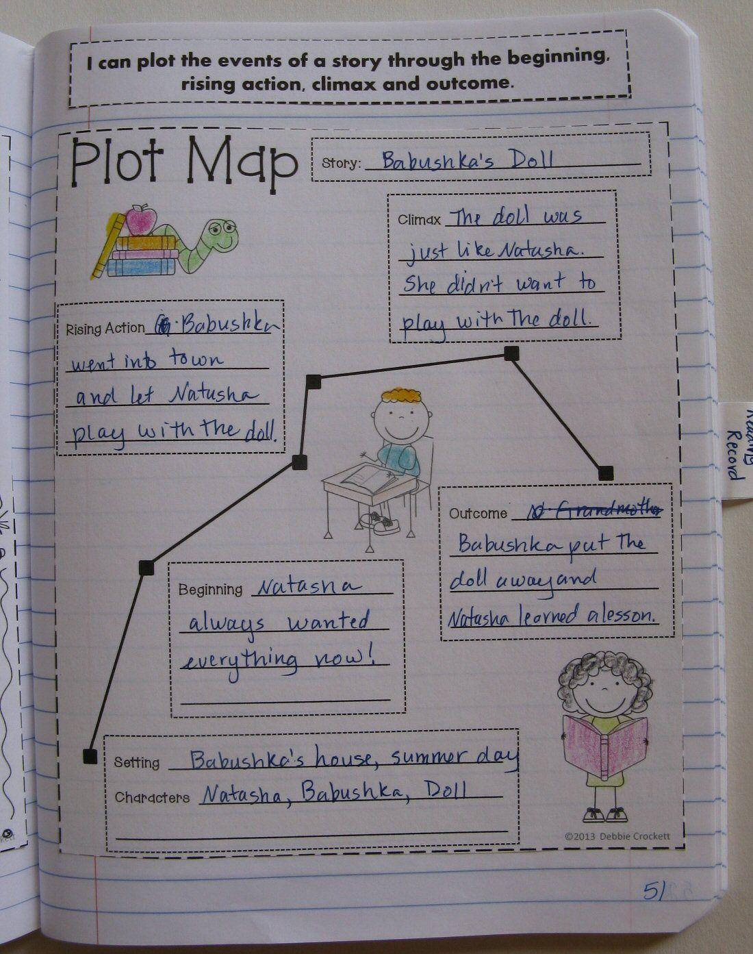 Interactive Notebook For Third Grade Ccss Literature And