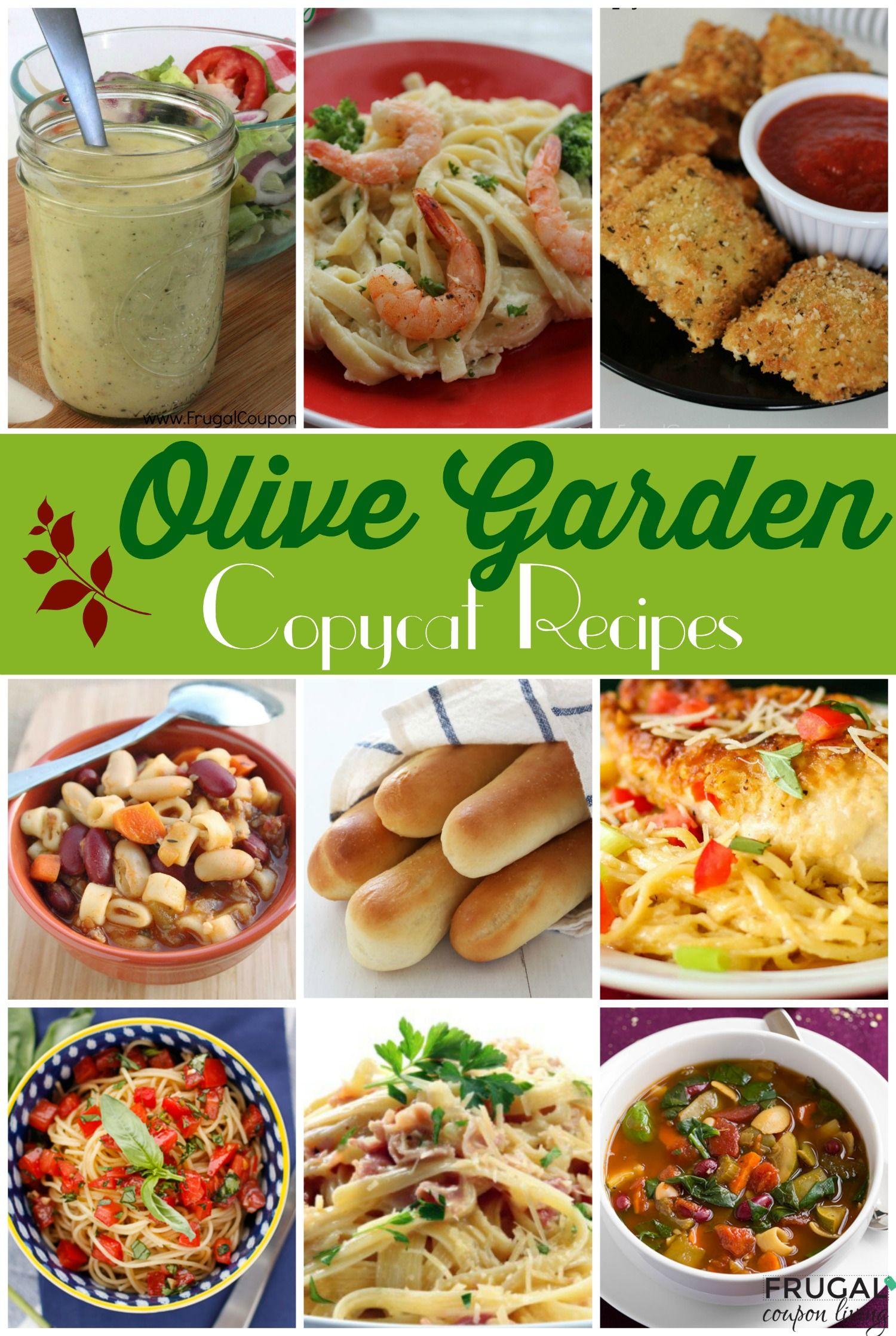 Make Your Favorite Meals at Home 25 Copycat Olive Garden
