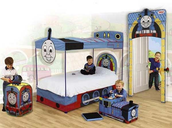 Kids Bedroom Ideas With Thomas The Tank Engine Theme