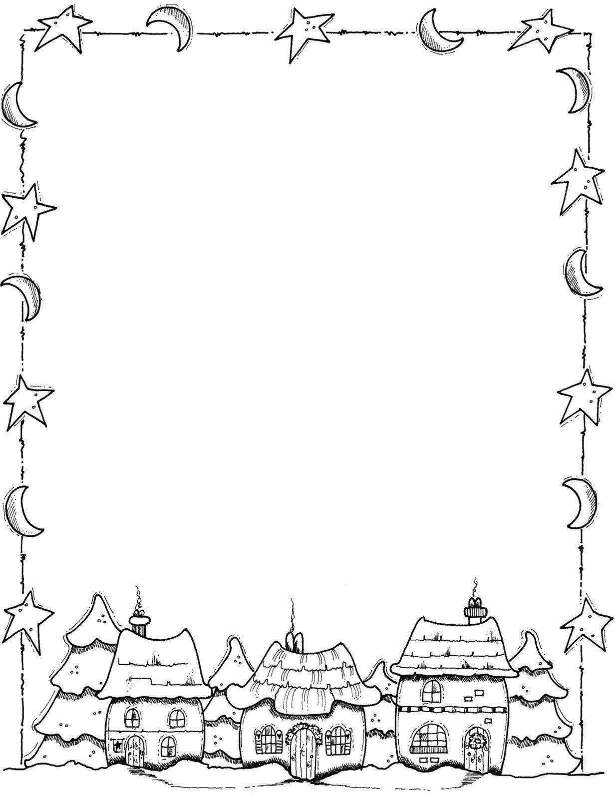 Christmas Page Border