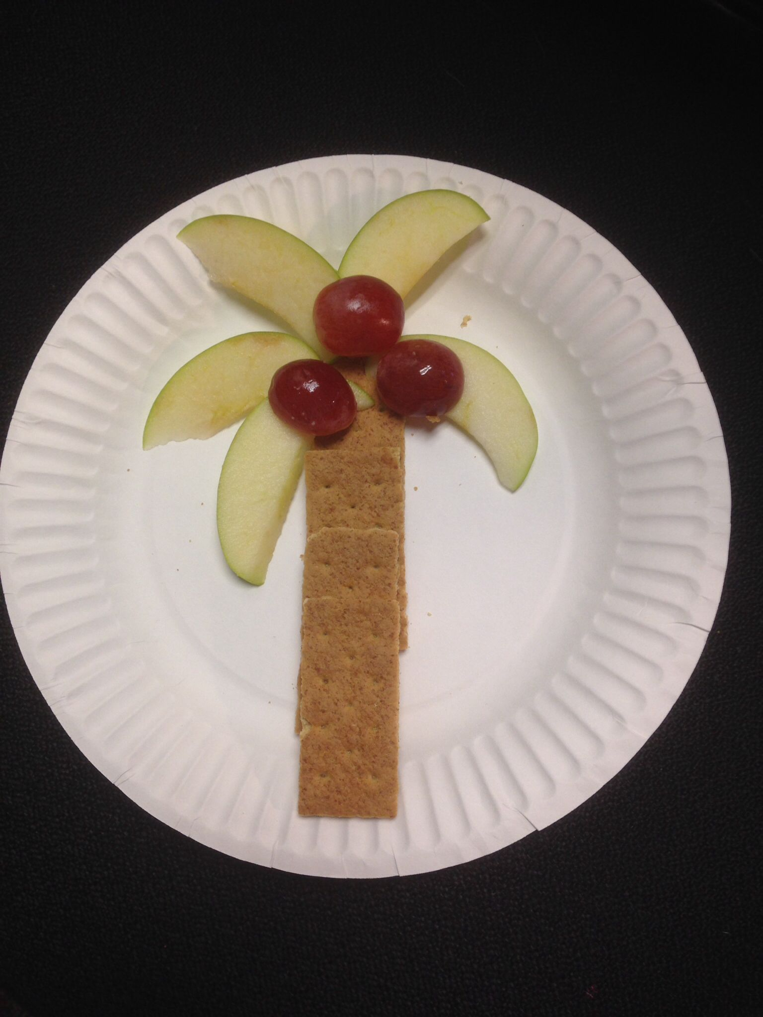 Chicka Chicka Boom Boom Snack We Made Today In The Preschool Read The Book For The Umpteenth