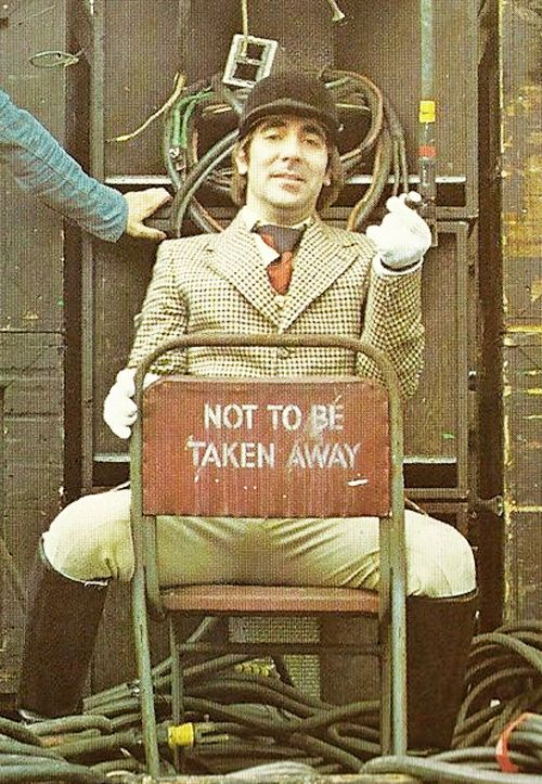 keith moon. the universe failing to take a perfectly