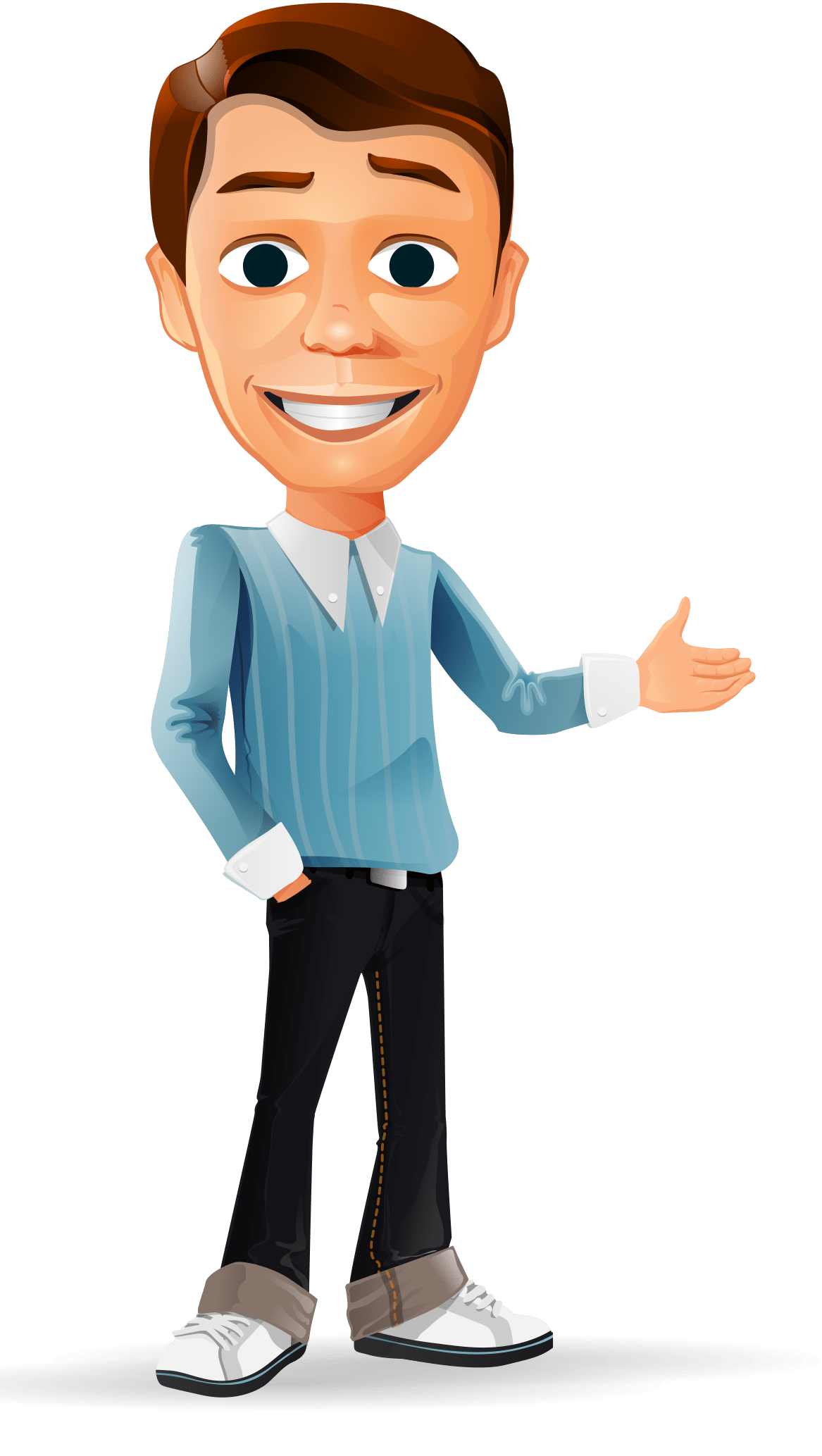 Businessman Vector Character http//www