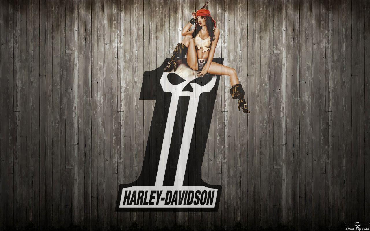 HarleyDavidson N°1 logo fond d'écran New Pinterest