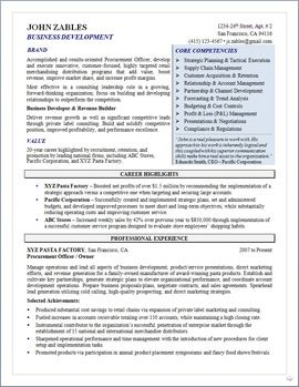 project manager resume resume and business on pinterest