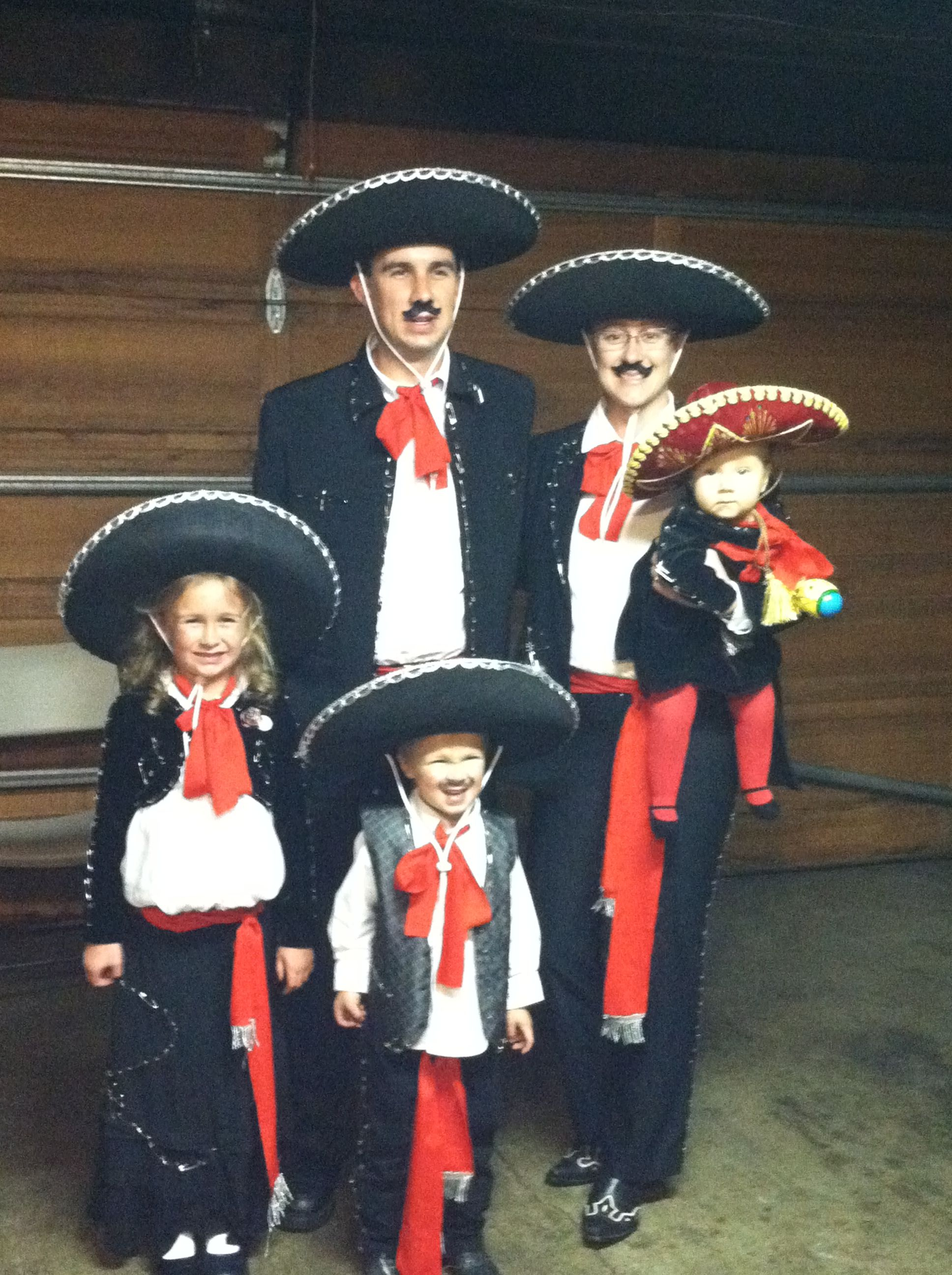 Family Mariachi Band Halloween Costumes...ole! Things We