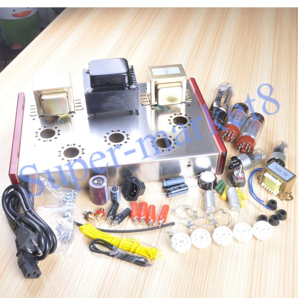Class A Single Ended EL34 5Z3P Tube Audio Amplifier 13W*2