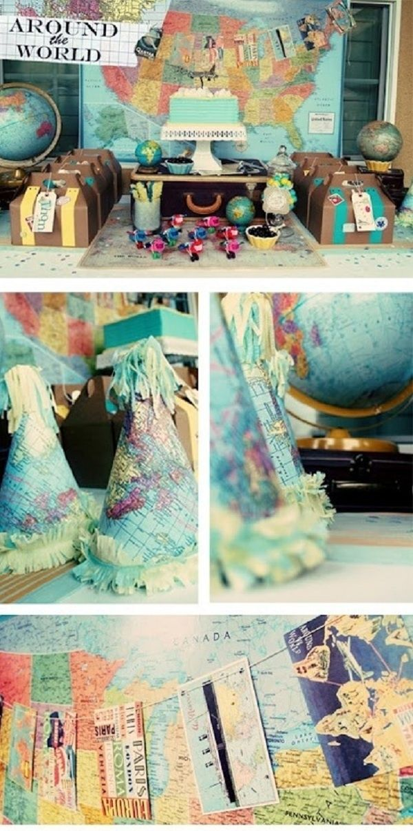 Travelthemed Parties Latitude Adjustment Pinterest