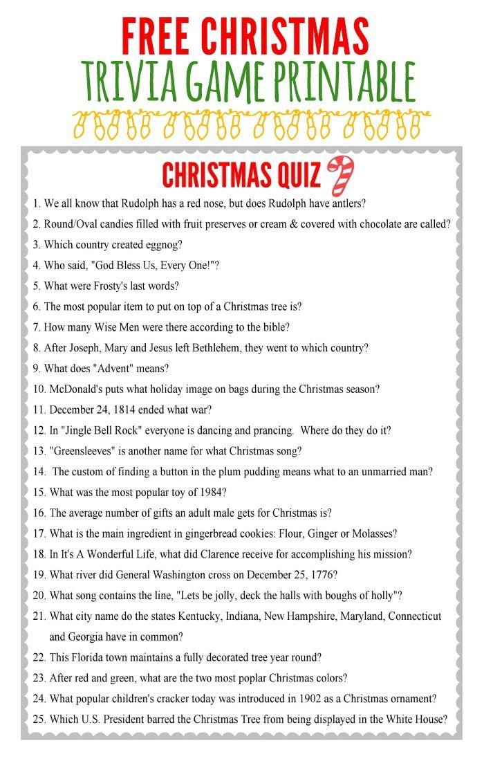 christmas charades game and free printable roundup