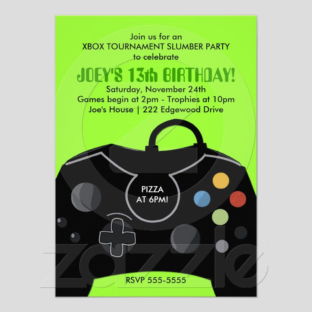 13th birthday party invitations boy Cogimbous