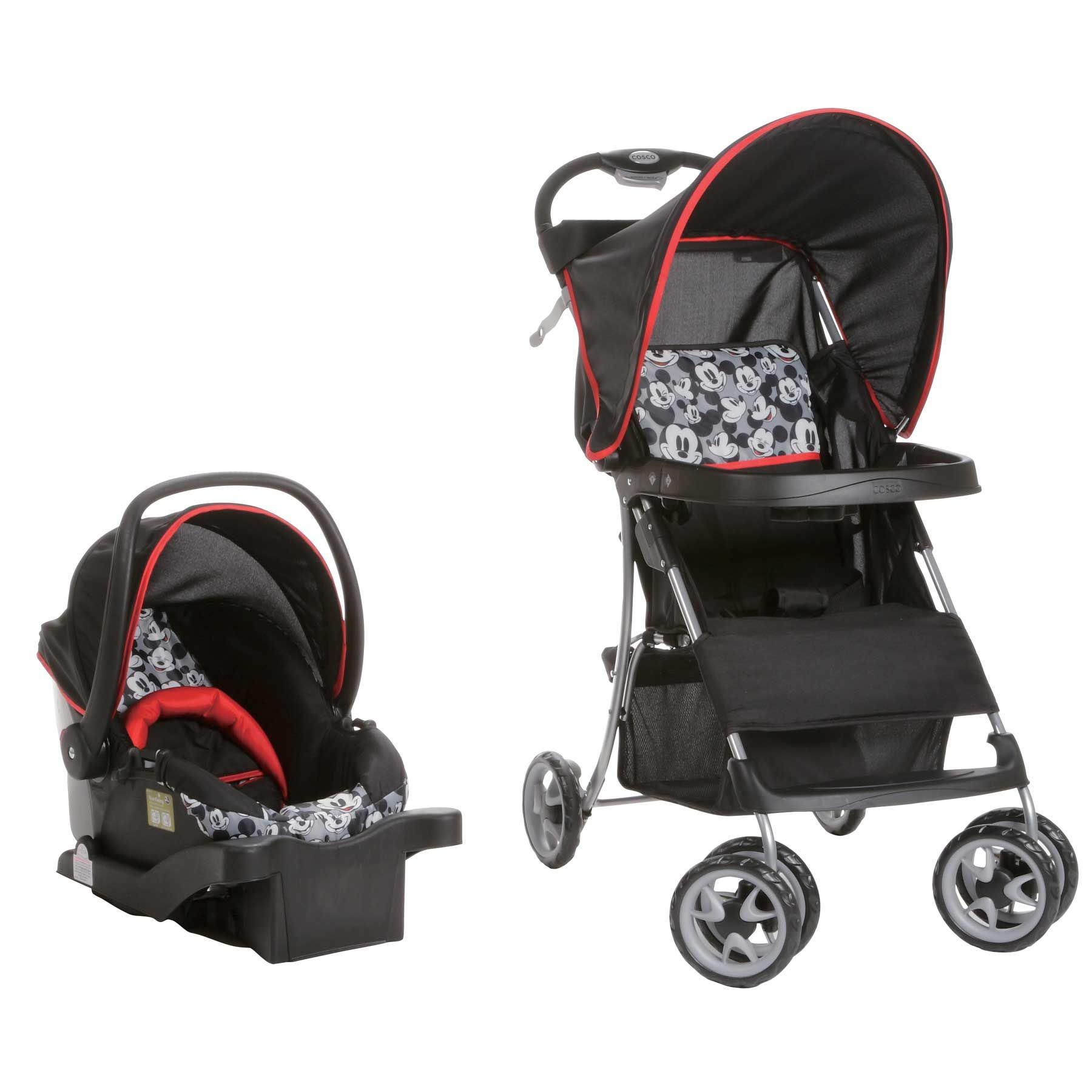 MICKEY MOUSE Sprinter Go Lightly Travel System Baby