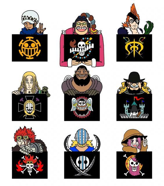 ONE PIECE Flag Of 11 Supernova Flag Of The Rookie