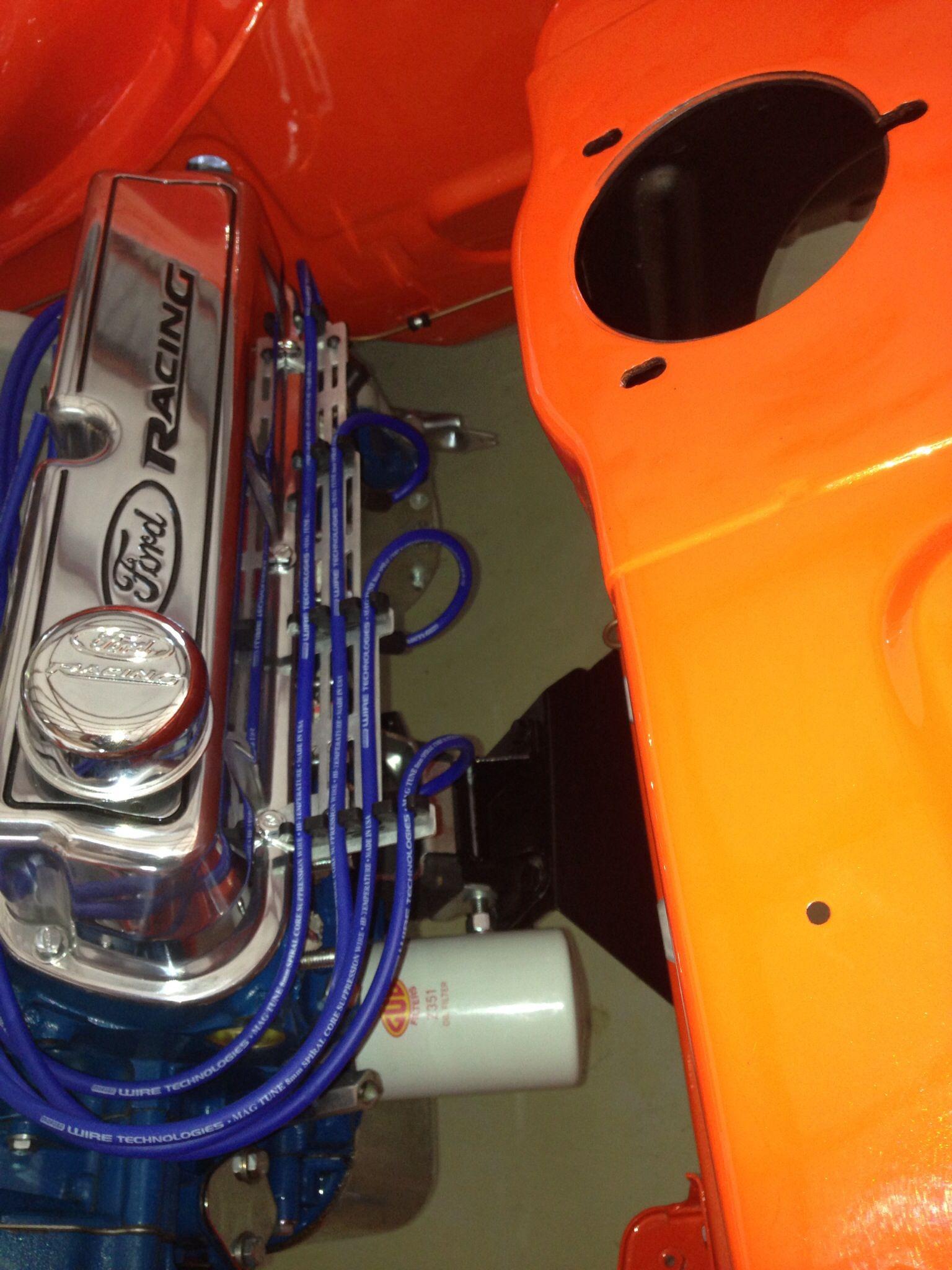 Ford Capri Perana Mustang/Boss 302 V8. Passion