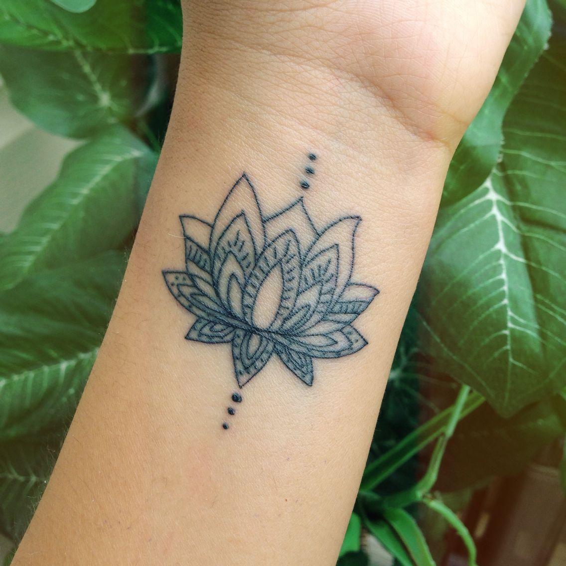 40 Awesome Wrist Tattoo Ideas For Inspiration Lotus