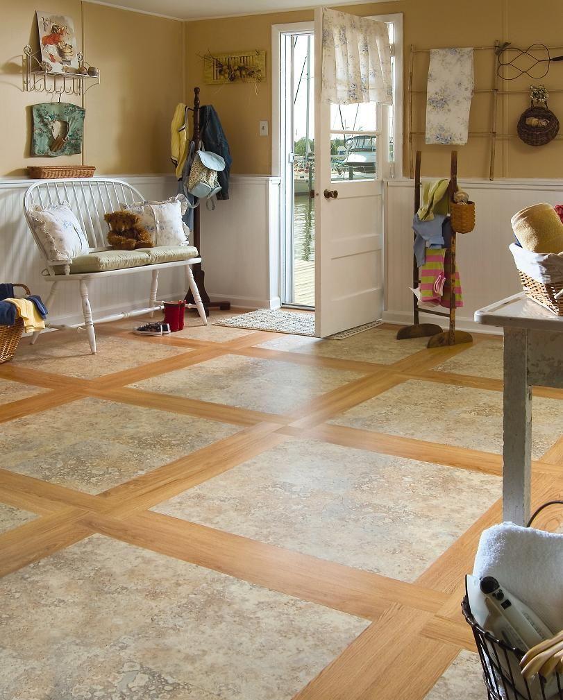 Mannington Adura Luxury Vinyl Tile Sicilian Stone