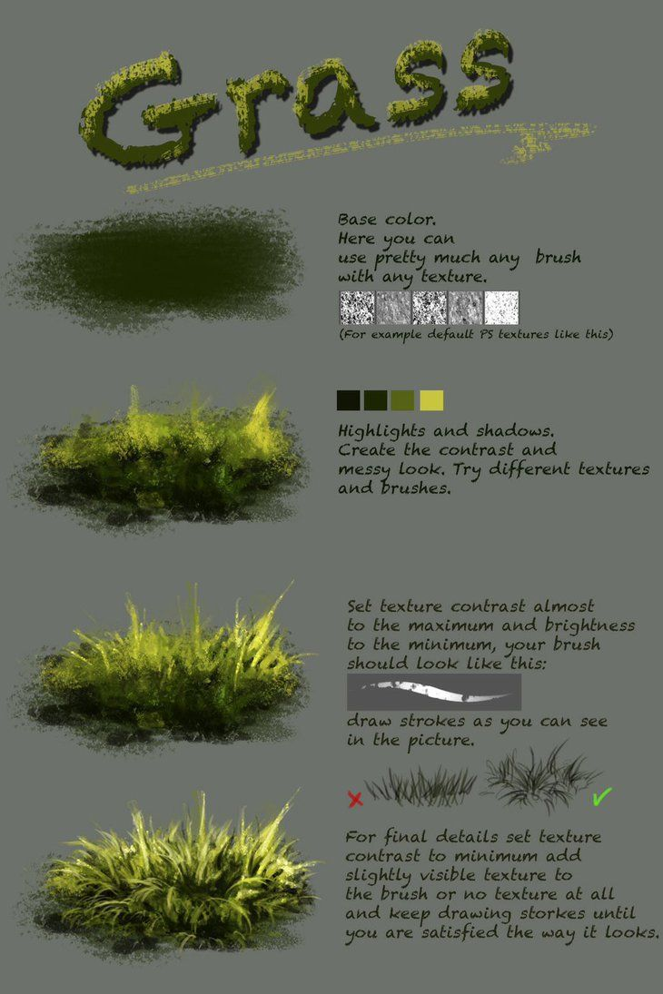 Difference between texture and plain brush nthartyfievi