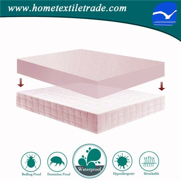 Soft Quilted Crib Mattress Protector Waterproof Baby Cover In Canada