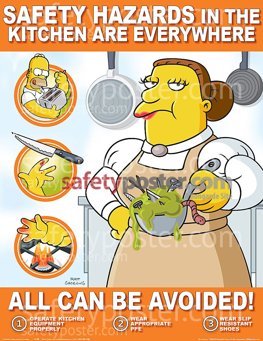 kitchen safety poster Google Search Activities for the