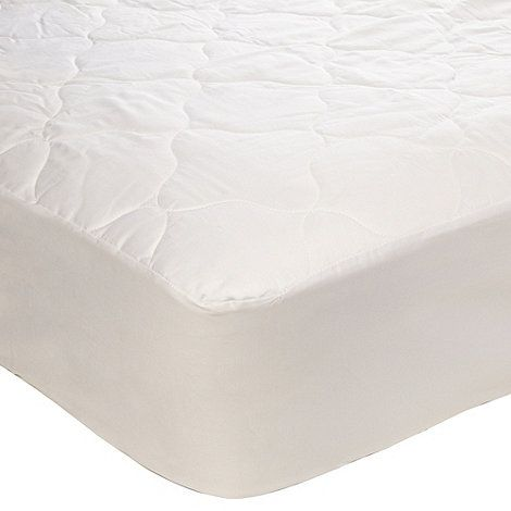 Home Collection Hollowfibre Luxury Quilted Mattress Protector At Debenhams