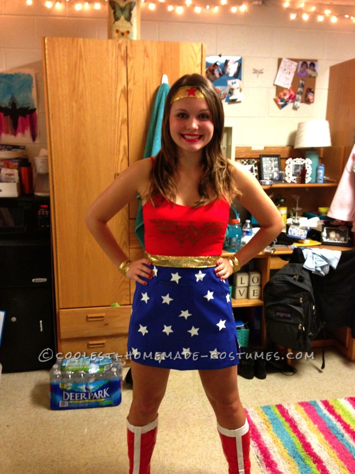 Cool Homemade Wonder Woman Costume Woman costumes