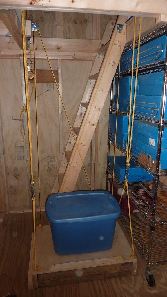 An Elevator For My 10x12 Storage Shed Storage Garage